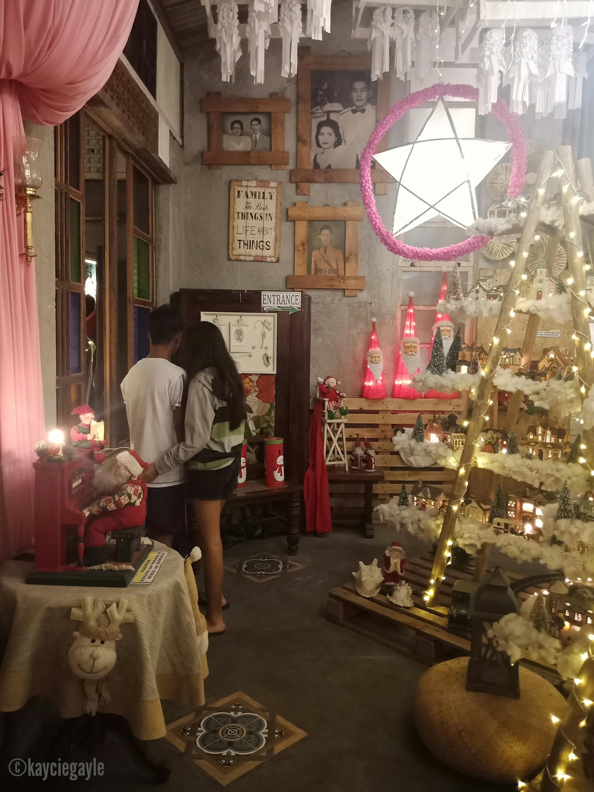 Christmas at Casa Tetangco Couple