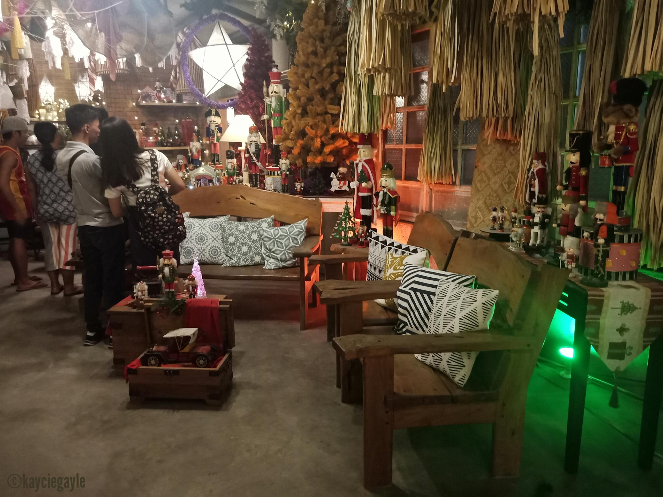 Christmas at Casa Tetangco Living Room