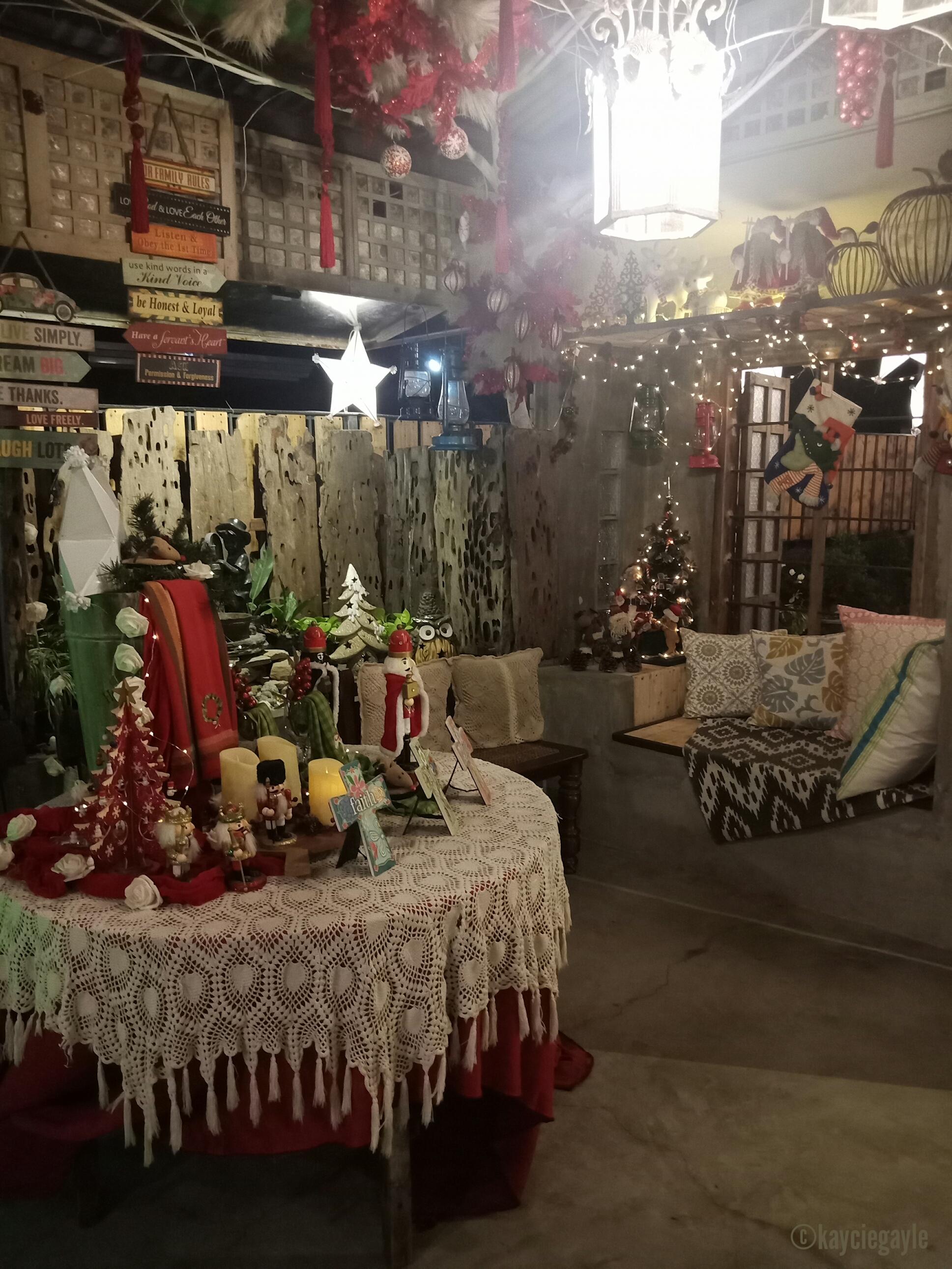 Christmas at Casa Tetangco Alcove
