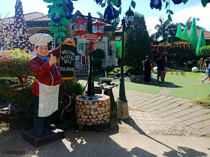 Baker's Hill, Palawan Iconic fat baker's man statue - misswoman.co - kayciegayle
