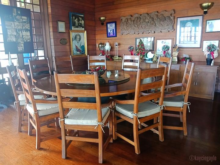 dining table mitra's ranch palawan- misswoman.co - kayciegayle