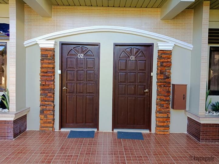 Doors of Room 1 & 2  rema tourist inn - palawan misswoman.co