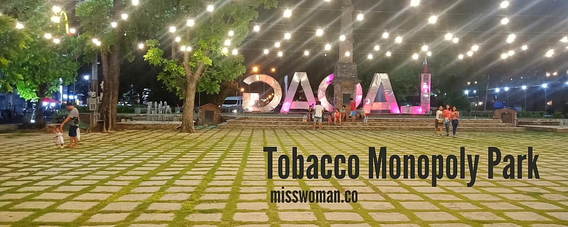 Tobacco Monopoly Park Aurora Park Laoag Ilocos Philippines