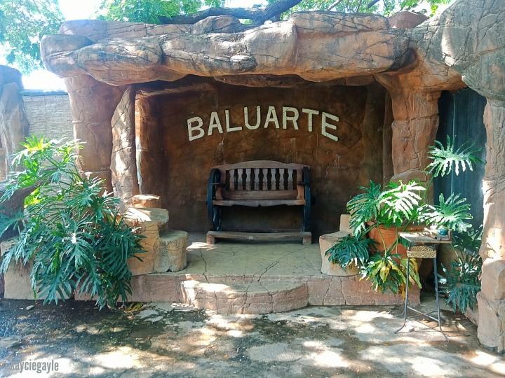 Baluarte Vigan Philippines Wooden Bench