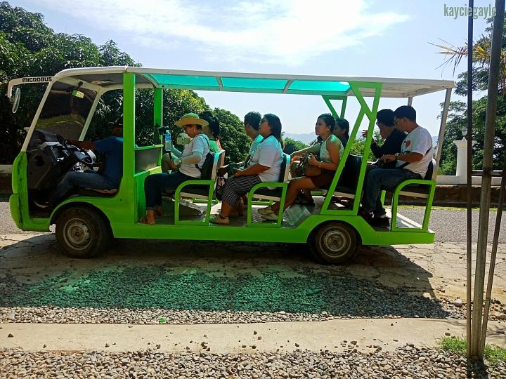 Baluarte Vigan Philippines Electronic Cab