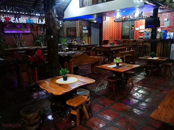 Casa de Viajero Tourist Inn Dining Area