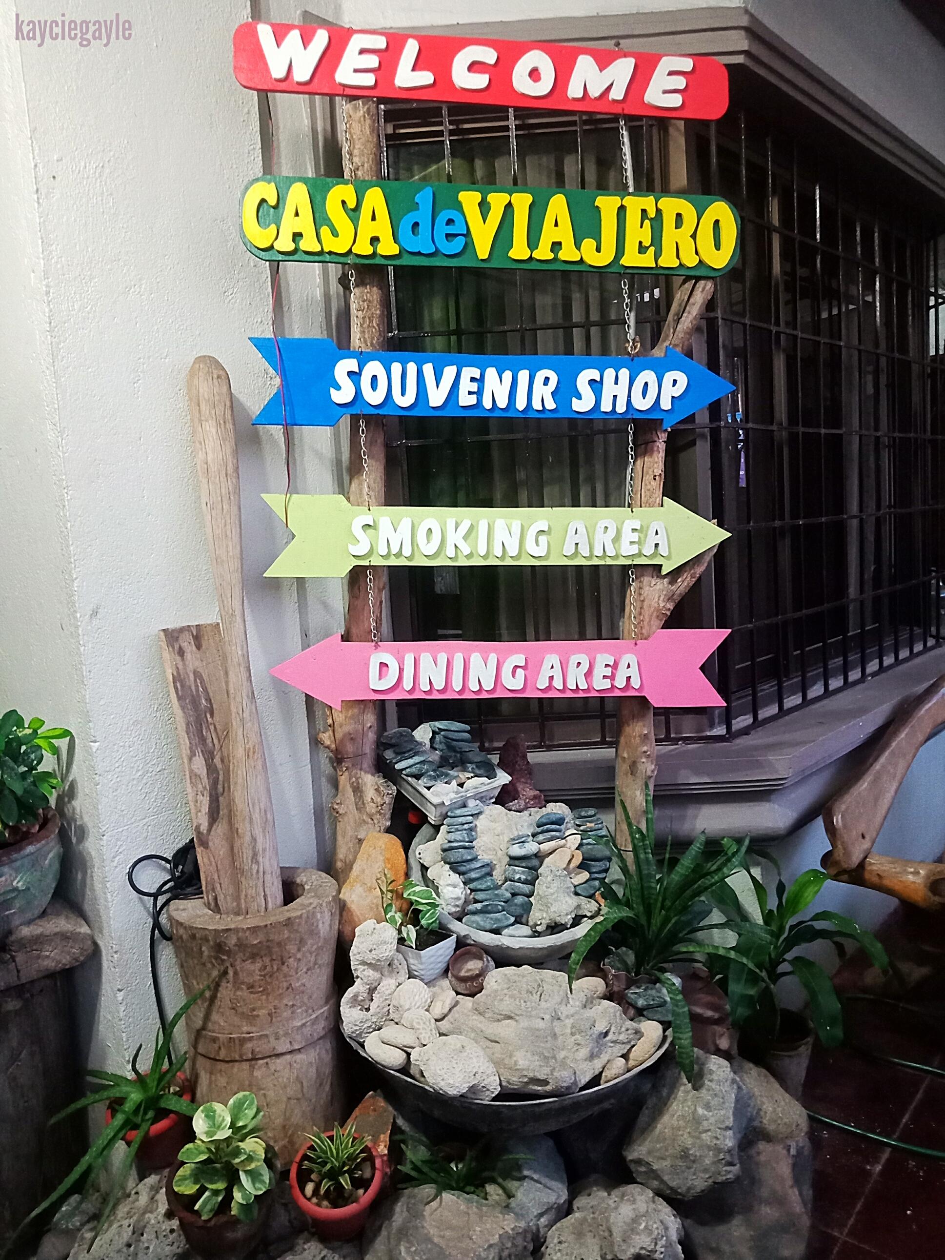 Casa de Viajero Tourist Inn Signpost