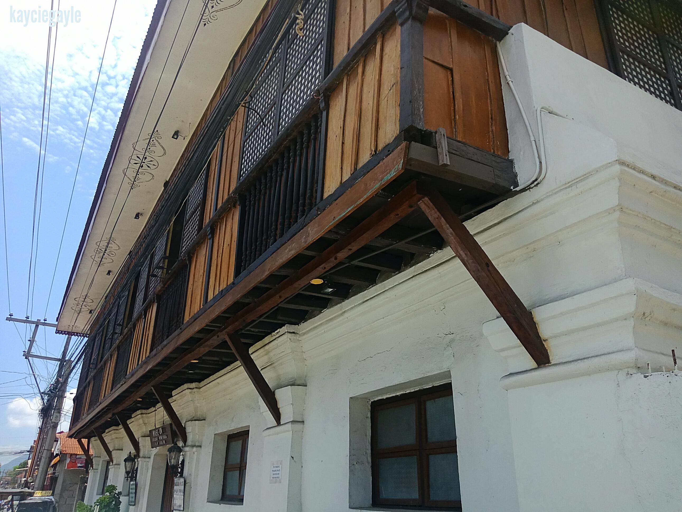 Crisologo Museum Vigan Ilocos Sur Philippines Two-story house