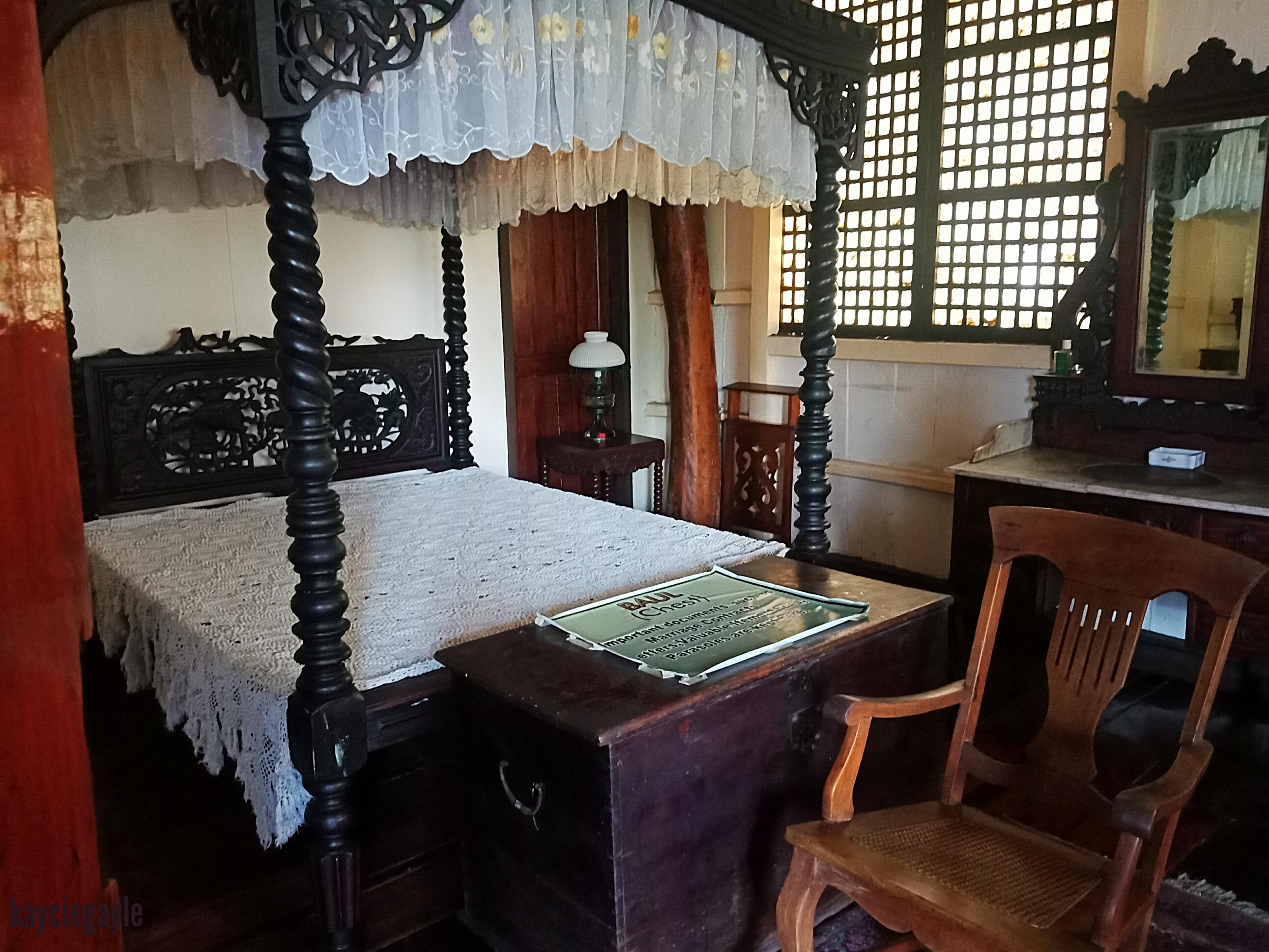 Crisologo Museum Vigan Ilocos Sur Philippines Bedroom