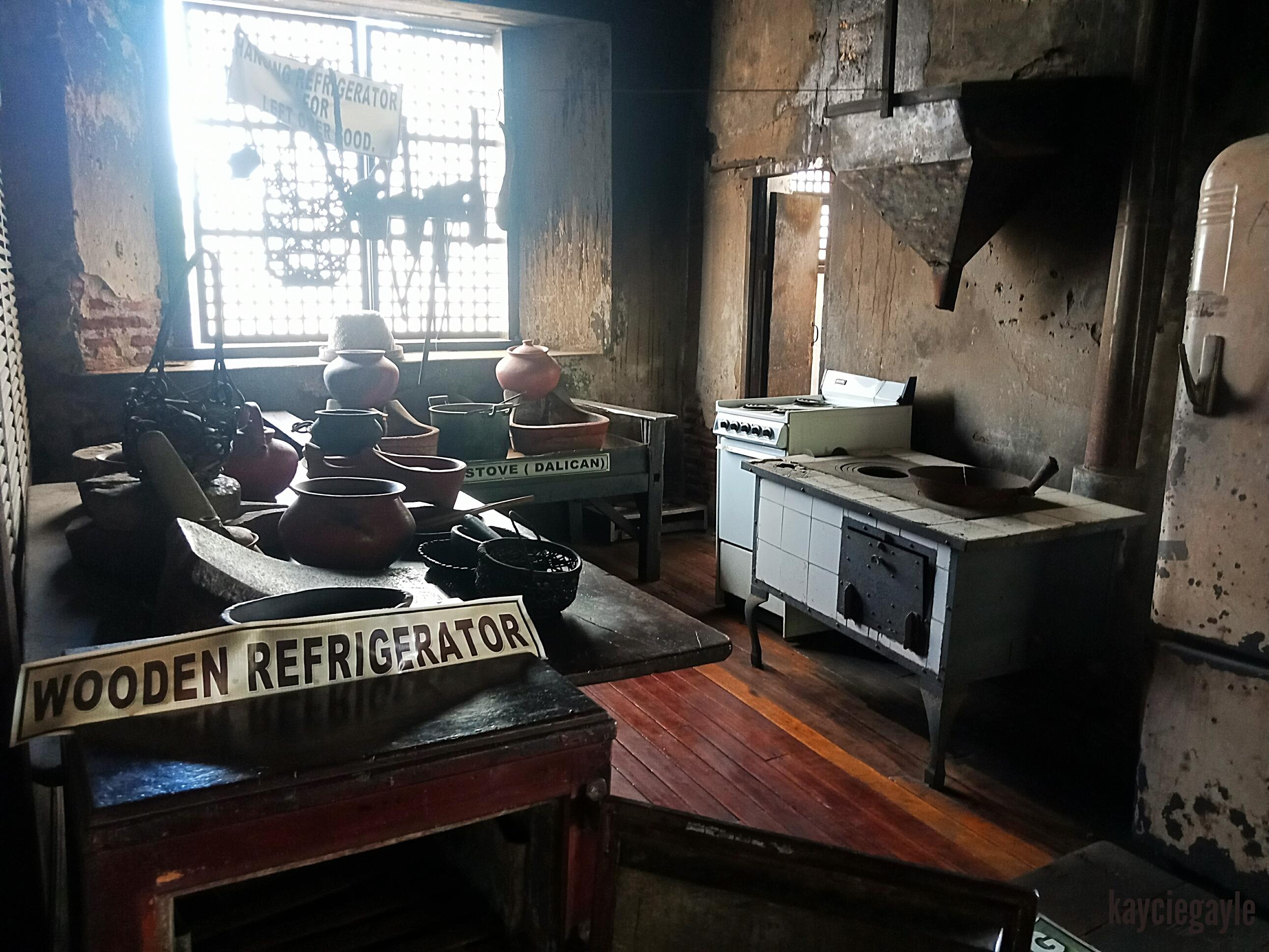 Crisologo Museum Vigan Ilocos Sur Philippines Kitchen