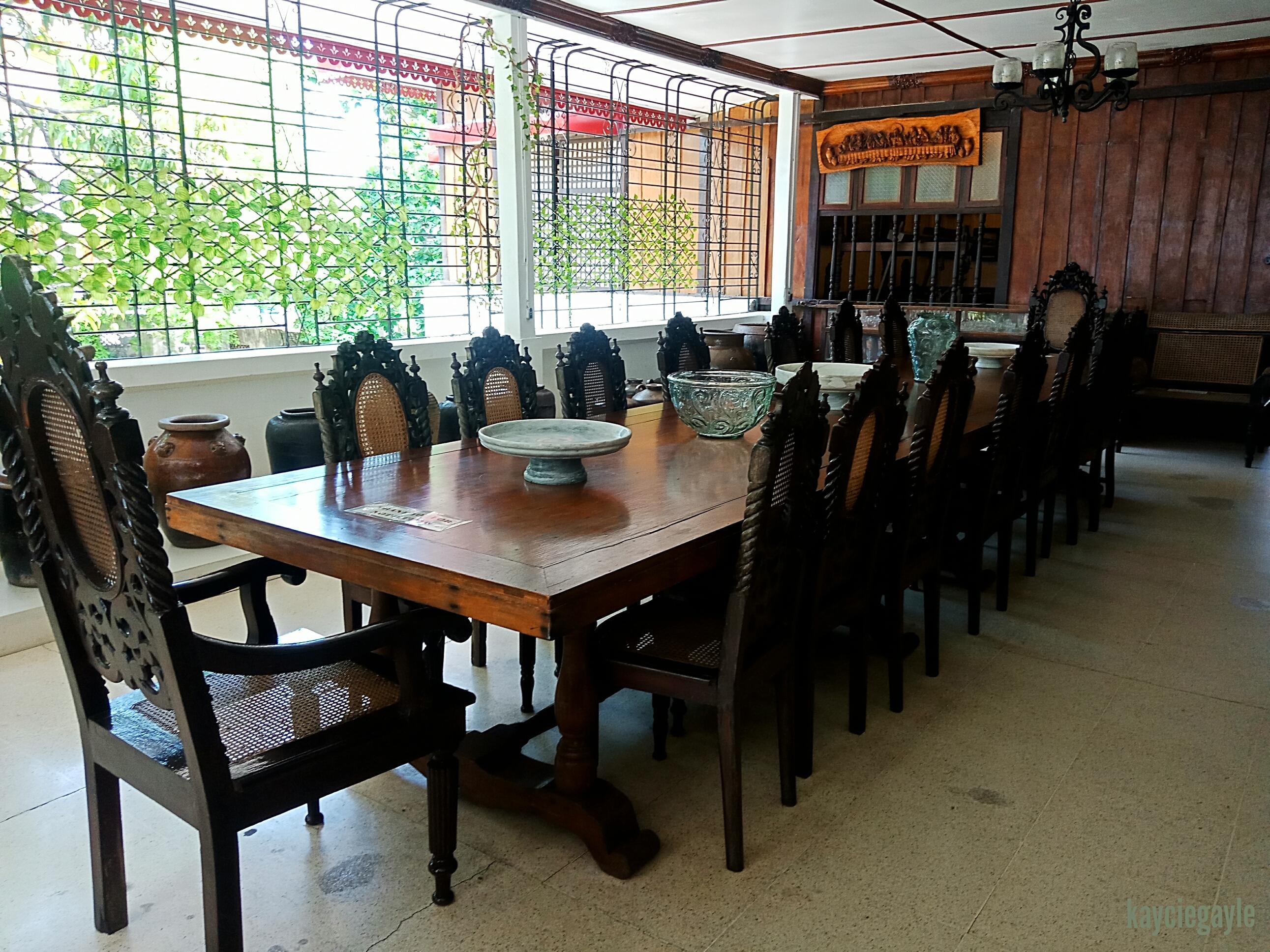 Crisologo Museum Vigan Ilocos Sur Philippines Dining Room