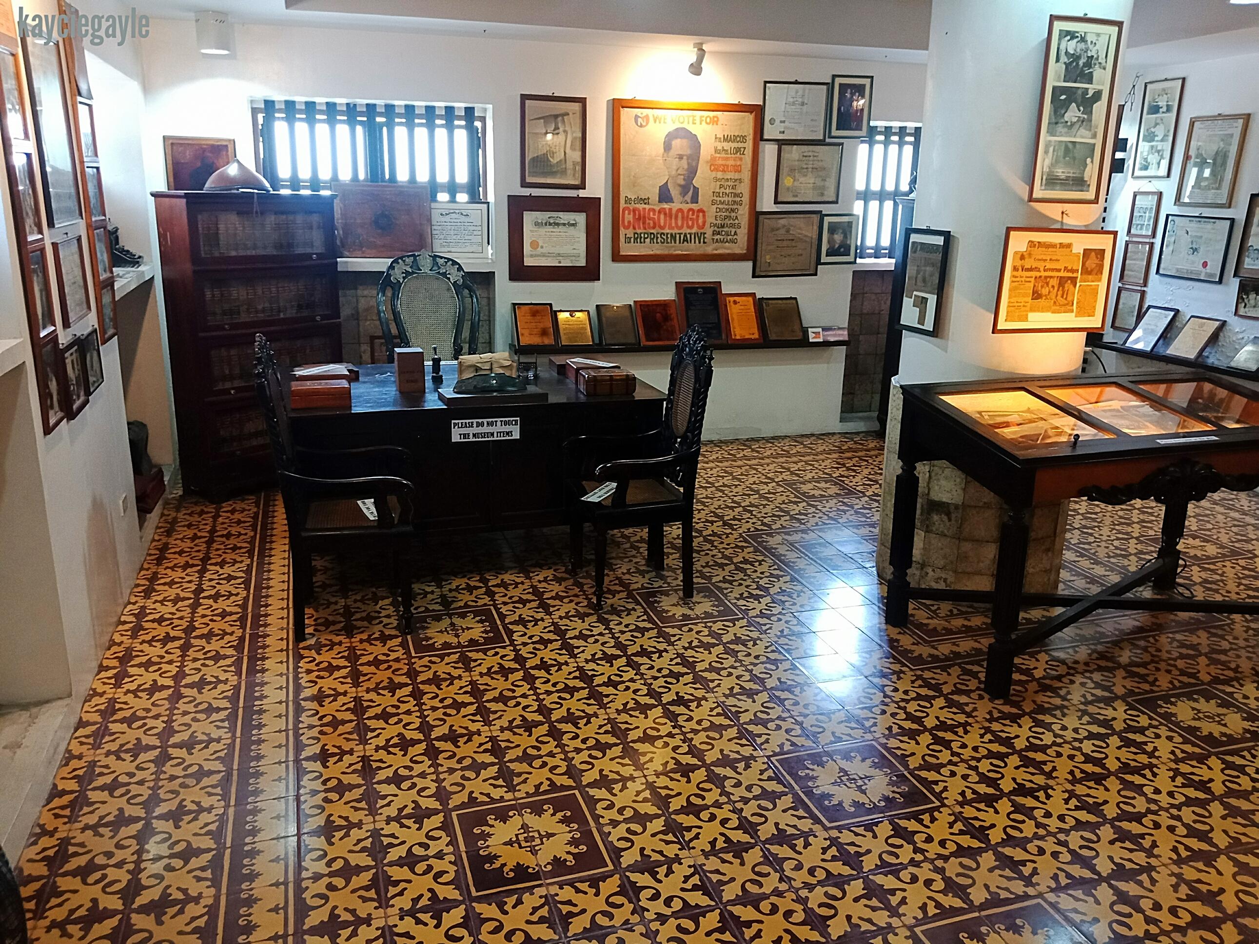 Crisologo Museum Vigan Ilocos Sur Philippines Office Stairs