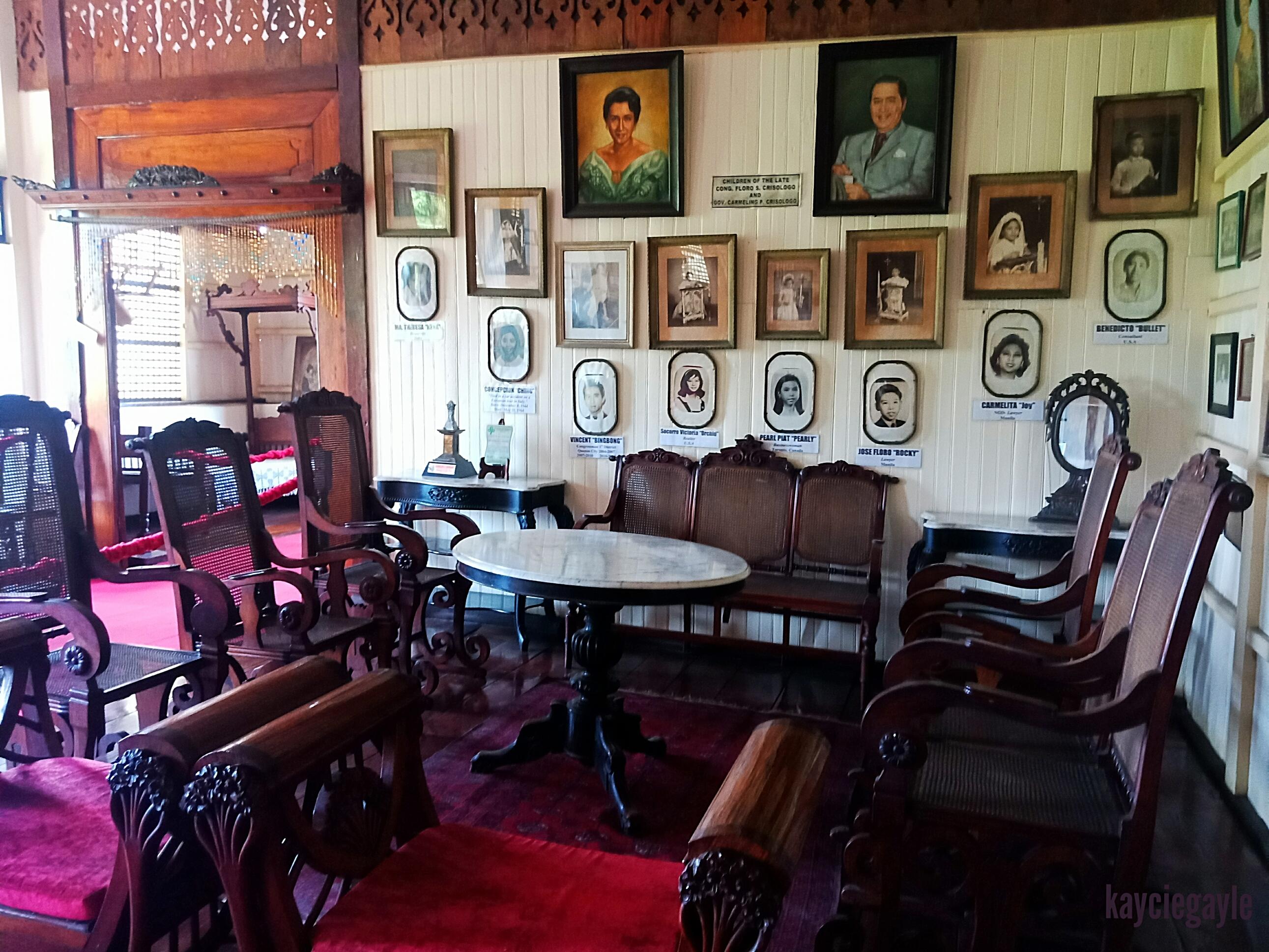Crisologo Museum Vigan Ilocos Sur Philippines Living Room