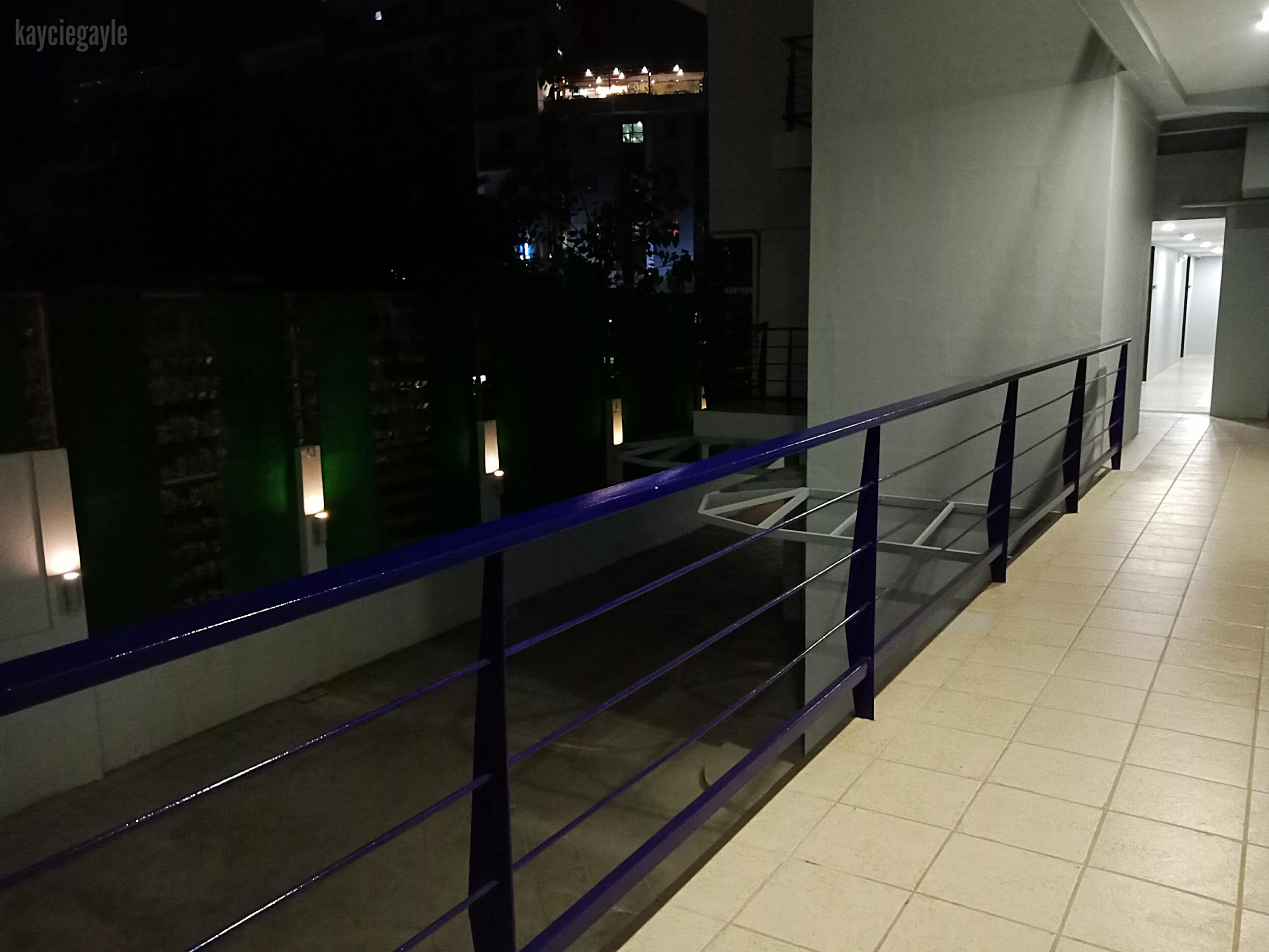 Rana Hotel Cebu City Philippines Open-air Hallway