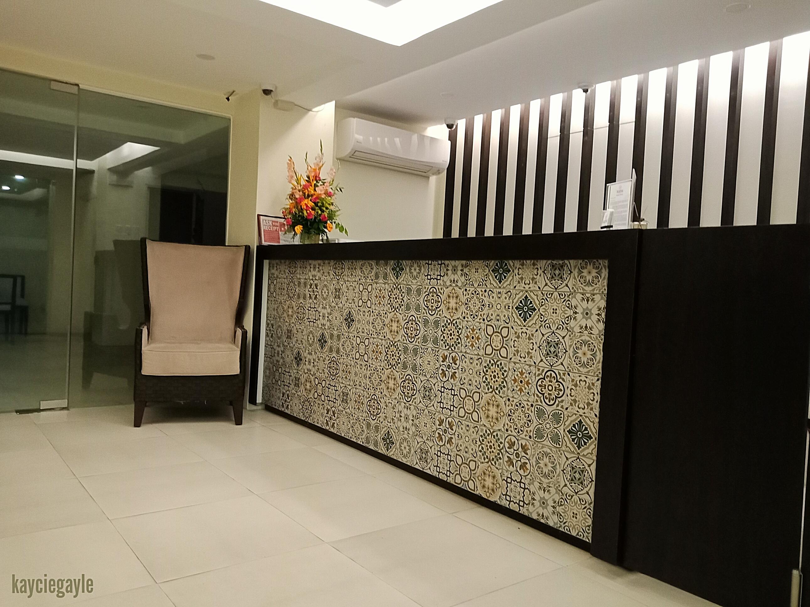 Rana Hotel Cebu City Philippines Front Desk