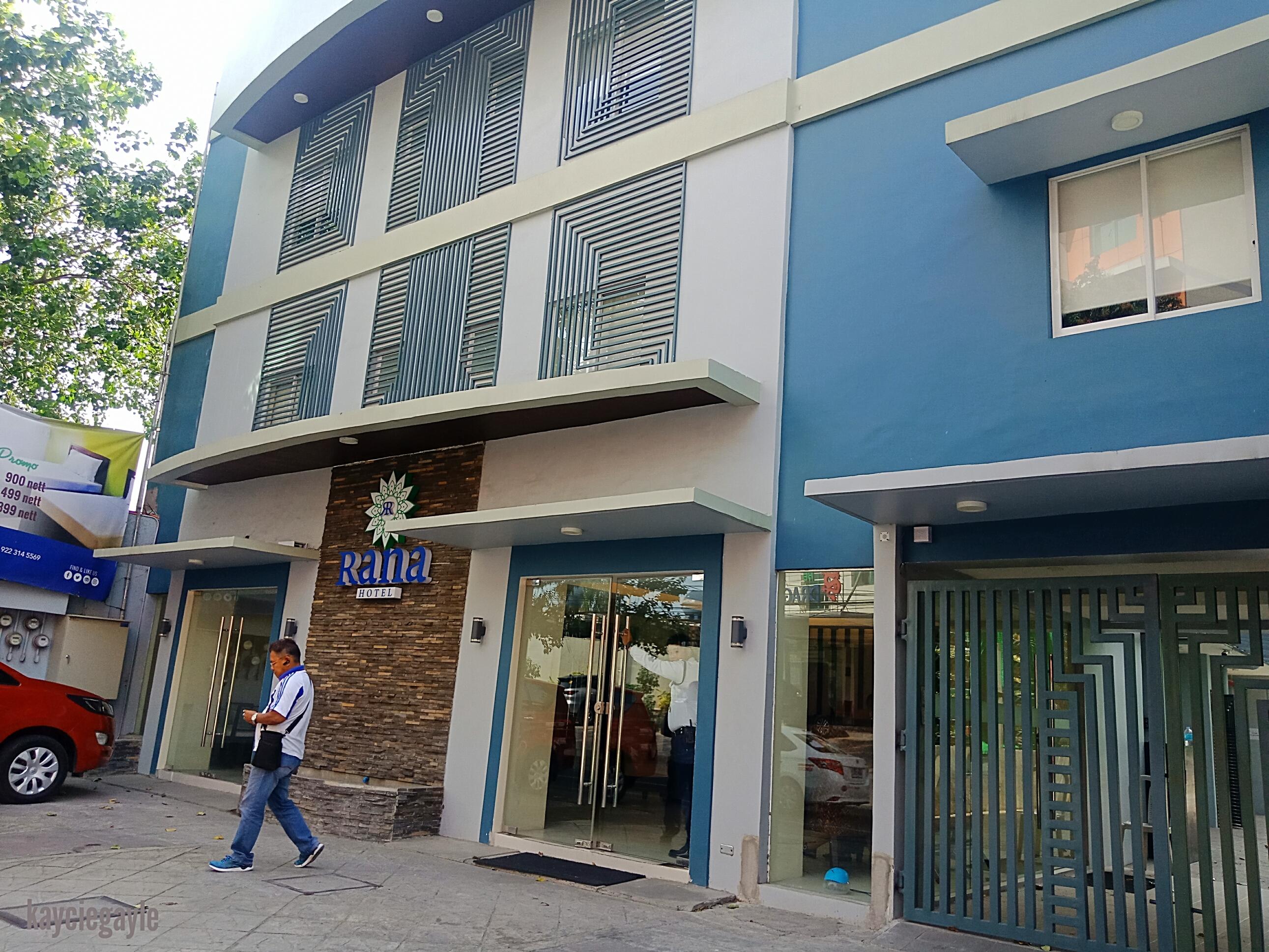 Rana Hotel Cebu City Philippines Hotel's Facade