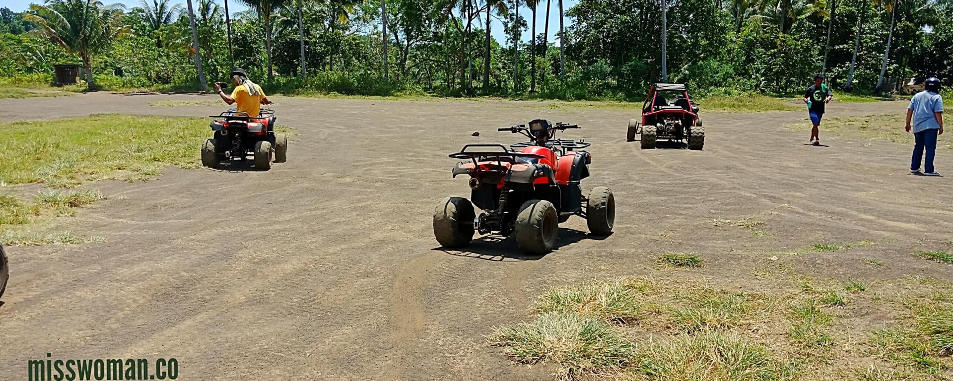 ATV Ride in Chocolate Hills, Bohol