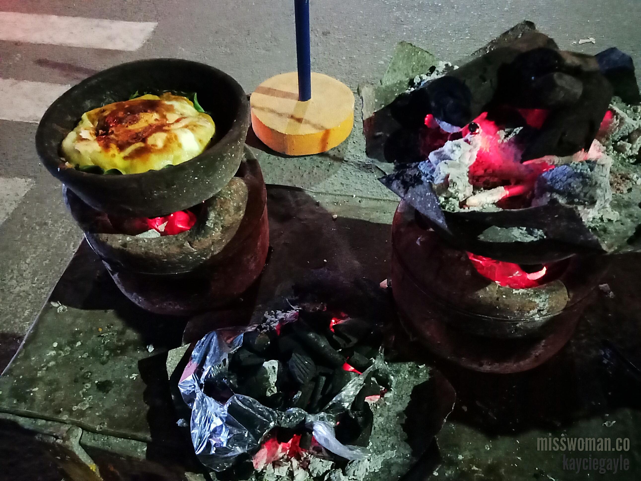 Bibingka, Christmas Coconut Rice Cake Bibingka Oven