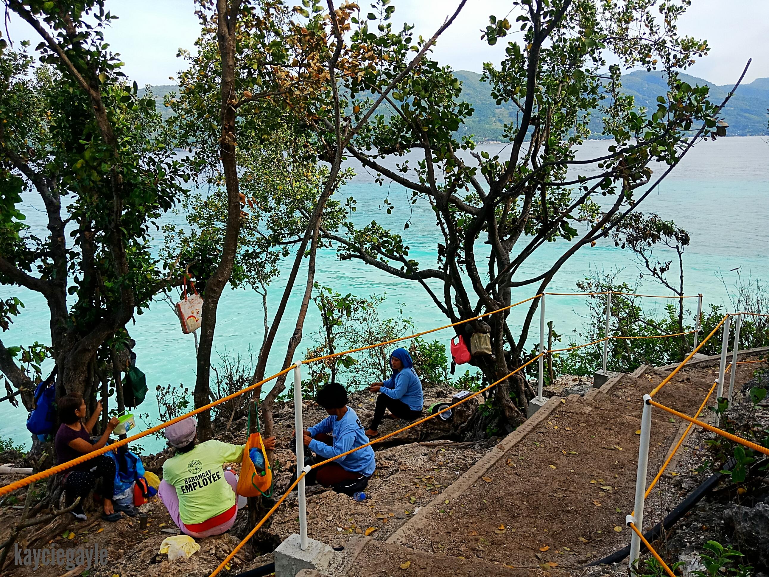 Sumilon Island in Oslob Cebu Caretakers of the island