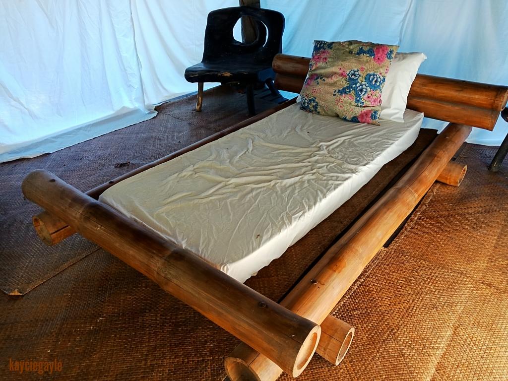 Hacienda Tour at Prado Farm Lubao Pampanga Ifugao house spa massage area bamboo bed