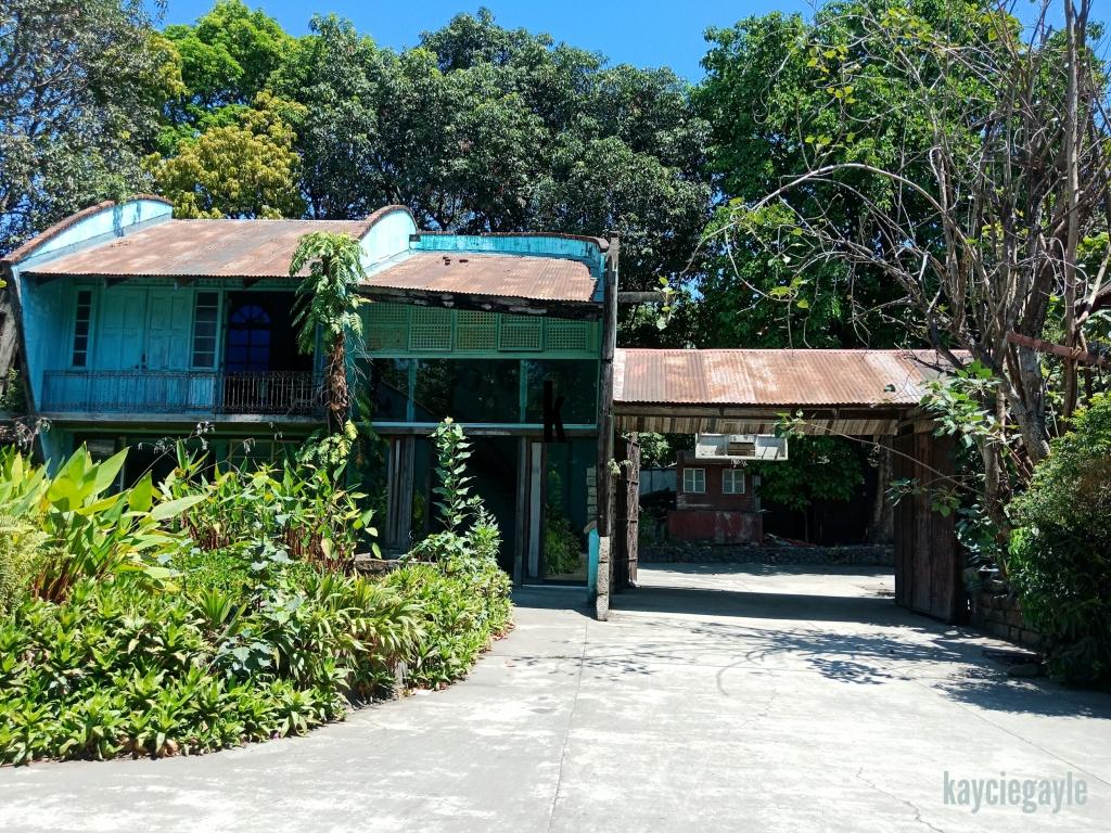 Hacienda Tour at Prado Farm Lubao Pampanga blue house