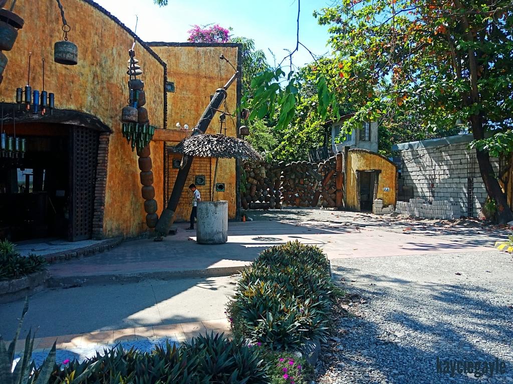 Hacienda Tour at Prado Farm Lubao Pampanga LPG tank gate facade