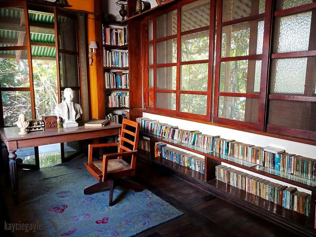 Hacienda Tour at Prado Farm Lubao Pampanga Library at Yellow House