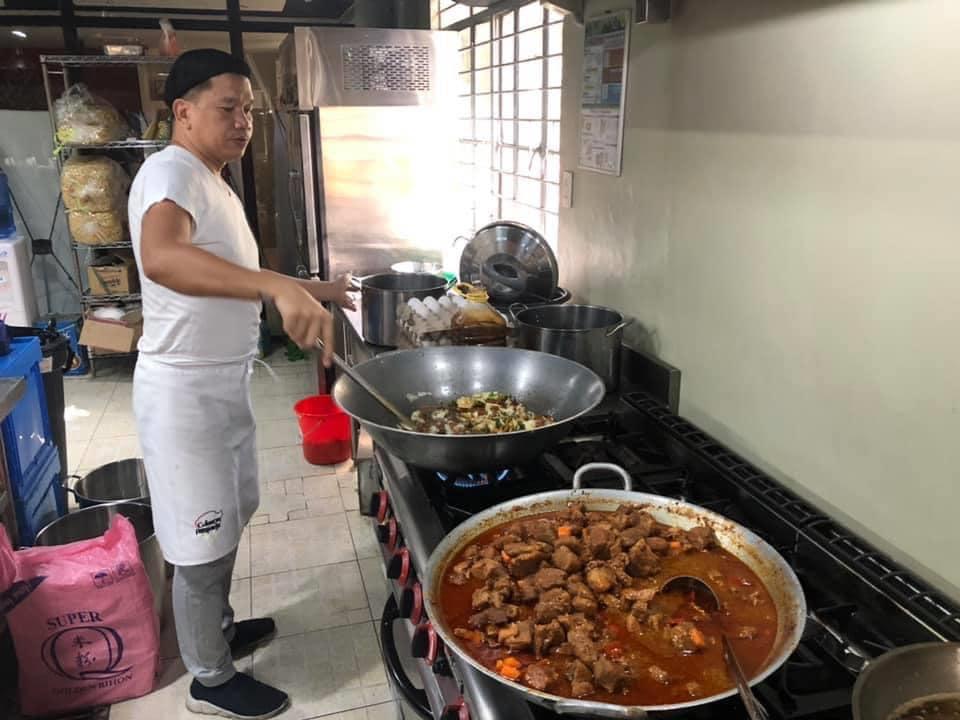 Lugud Balen volunteer chef